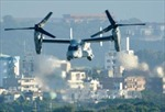 Nhật Bản, Mỹ dùng máy bay vận tải Osprey trong tập trận chung
