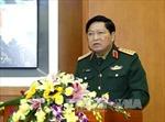 Đại tướng Ngô Xuân Lịch tiếp đoàn công tác Cục Cơ yếu Bộ Nội vụ Cuba