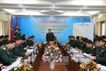 Đại tướng Ngô Xuân Lịch làm việc với Quân khu 4