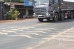 Chỉnh tuyến đoạn sụt lún trên đường Hồ Chí Minh qua Đắk Nông