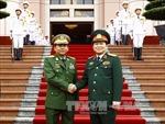 Thúc đẩy hợp tác quốc phòng giữa Việt Nam - Myanmar