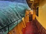 Phà Manly vượt sóng 'quái vật' ở cảng Sydney