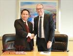 TTXVN tăng cường hợp tác với truyền thông Australia