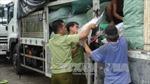 Quảng Nam: Bắt xe tải chở lượng lớn hàng hóa không hóa đơn