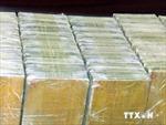 Bắt giữ xe tải thiết kế khoang đặc biệt giấu 150 bánh heroin