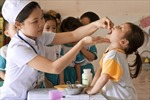 Cải thiện tình trạng thiếu vi chất dinh dưỡng ở trẻ em