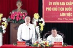 Phó Chủ tịch Quốc hội Phùng Quốc Hiển làm việc tại tỉnh Phú Yên