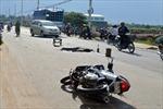 Hải Phòng: Va chạm giữa 2 xe máy, 4 người thương vong