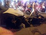 Đâm hai xe máy, tài xế ô tô rời khỏi hiện trường bỏ mặc nạn nhân