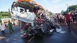 Bàng hoàng trước những vụ tai nạn thảm khốc do xe tải đi ngược chiều
