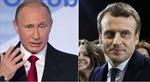 Tổng thống Nga sẵn sàng hợp tác với ông Macron