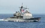 Đang tập trận gần Triều Tiên, tàu Hải quân Mỹ bị tàu cá Hàn Quốc đâm