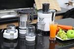 So sánh máy ép trái cây và máy xay sinh tố