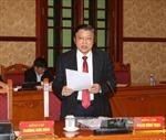 Ban Nội chính Trung ương làm việc tại Bình Thuận