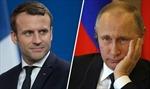 Cơ hội 'phá băng' trong quan hệ song phương Nga - Pháp