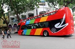 Hà Nội chạy thử xe buýt 2 tầng mui trần