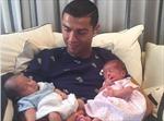 Ronaldo đã chi 200.000 euro nhờ đẻ thuê cặp song sinh một trai, một gái?