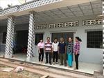 Chị tổ trưởng người Khmer nhiệt tình với công tác xóa nghèo