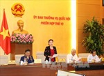 Khai mạc Phiên họp thứ 12 của Ủy ban Thường vụ Quốc hội khóa XIV