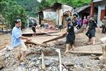 Yên Bái: Mưa lớn gây sạt lở đất khiến một người chết
