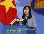 Việt Nam phản đối Trung Quốc tuyên bố huấn luyện bắn đạn thật tại Hoàng Sa