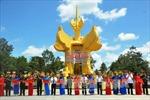 Khánh thành Đài tưởng niệm tại Khu di tích quốc gia đặc biệt Tà Thiết