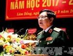 Bộ trưởng Quốc phòng thăm và làm việc tại tỉnh Lào Cai