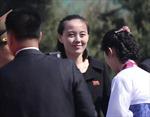Những hình ảnh hiếm hoi về cô em gái được ông Kim Jong-un tin tưởng trao quyền lực