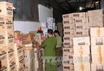 Quảng Ninh thu giữ 24 nghìn lọ nước uống vị trái cây nhập lậu