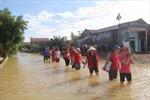 Thanh Hóa: Mưa lớn suốt 3 ngày, vùng lũ Yên Định bị cô lập
