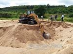 Tái diễn nạn 'cát tặc' ở  Kon Tum