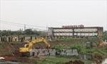 Khẩn trương khắc phục sự cố sạt lở bể chứa trạm bơm Gia Viễn, Ninh Bình