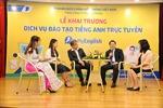 VNPT cung cấp dịch vụ đào tạo tiếng Anh trực tuyến