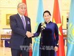 Chủ tịch Quốc hội Nguyễn Thị Kim Ngân hội kiến Chủ tịch Thượng viện Cộng hòa Kazakhstan