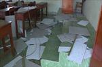 Khẩn trương khắc phục sự cố sập trần la phông tại Trường Tiểu học ở Vĩnh Long