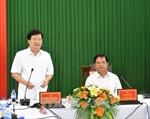 Phó Thủ tướng Trịnh Đình Dũng: Quảng Ngãi cần cập nhật lại chiến lược phát triển kinh tế