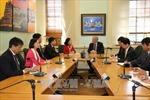 Trưởng Ban Dân vận Trung ương Trương Thị Mai thăm, làm việc tại New Zealand