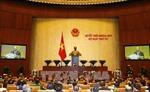 Kỳ họp thứ 4, Quốc hội khóa XIV: Chỉ đạo quyết liệt công tác thu ngân sách Nhà nước