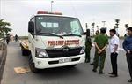 Hà Nội: Xe cứu hộ mất lái 'tông' 2 phụ nữ đi tập thể dục tử vong, 1 người thương nặng