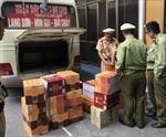 Bắt giữ 420 chai rượu do Trung Quốc sản xuất