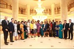 Chủ tịch Tập đoàn BRG tiếp Phó chủ tịch Ngân hàng thế giới bên lề APEC 2017