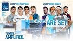 Rafael Nadal gặp Dominic Thiem, Federer gặp Zverev tại ATP World Tour Finals