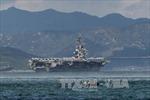 Ba tàu sân bay Mỹ sắp có cuộc tập trận chung hiếm hoi gần Bán đảo Triều Tiên