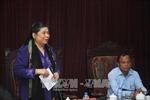 Phó Chủ tịch Thường trực Quốc hội Tòng Thị Phóng thăm và làm việc tại Bắc Kạn
