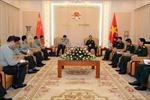 Tổng Tham mưu trưởng Phan Văn Giang tiếp Bộ trưởng Bộ Động viên Quốc phòng Trung Quốc