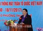Phó Chủ tịch thường trực Quốc hội Tòng Thị Phóng dự Ngày hội Đại đoàn kết toàn dân tộc