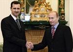 Tổng thống Assad đến Nga bàn tương lai Syria với Tổng thống Putin