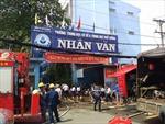Trường bất ngờ bốc cháy, hàng trăm học sinh sơ tán khẩn cấp