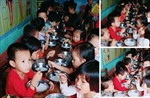 Nghệ An sẽ xử lý nếu có việc bớt tiền ăn của trẻ ở Trường Mầm non Thạch Ngàn