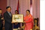 Chánh án Tòa án Nhân dân tối cao thăm và làm việc tại Nepal